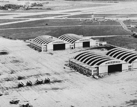 1940s aerial Pax River