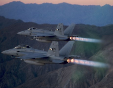 F/A-18F Super Hornet photo courtesy of Boeing.