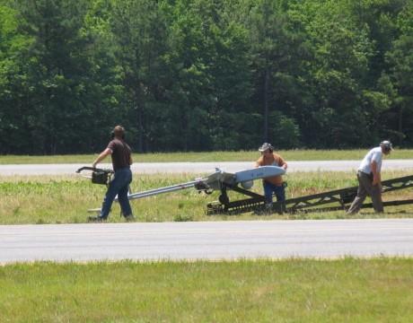 RQ-7B Shadow at Webster Field