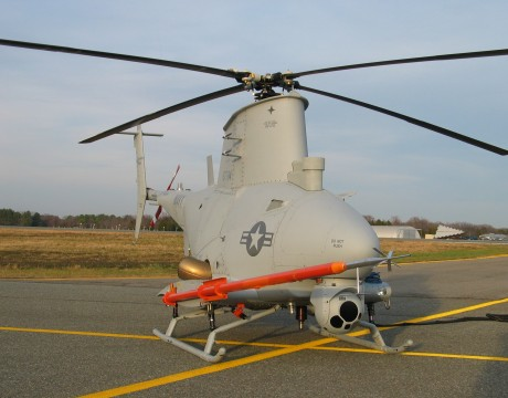 MQ-8B Fire Scout photo courtesy of Northrop Grumman