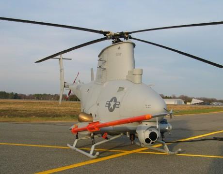 MQ-8B Fire Scout photo courtesy of Northrop Grumman