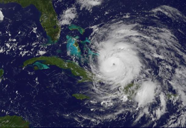NASA photo of Hurricane Irene