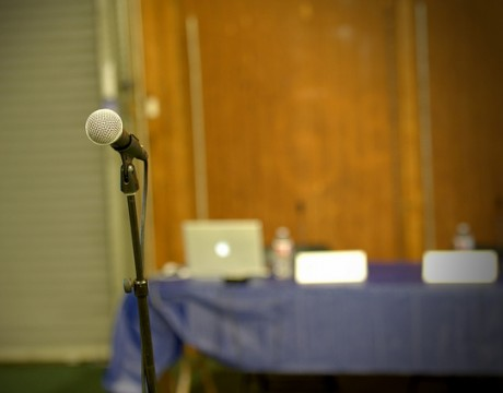 public hearing microphone