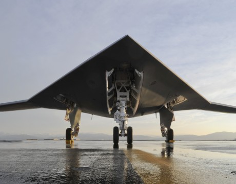 X-47B UCAS demonstrator photo courtesy of Northrop Grumman
