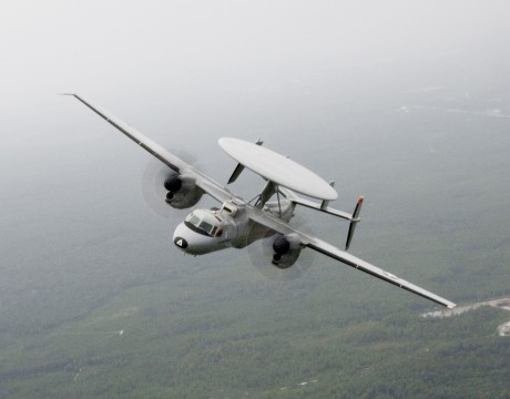 E-2D Advanced Hawkeye photo courtesy of US Navy.