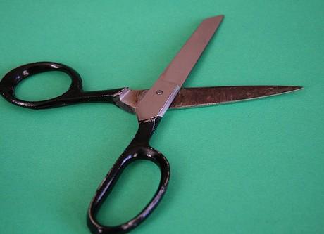 job cut scissors