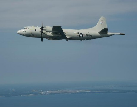 Navy P-3 Orions will be equipped with updated modernized computer technology as part of a technology hardware and software integration lead by Maritime Patrol and Reconnaissance Aircraft (PMA-290) program office. The C4 for ASW program reached IOC on Sept. 27. (Official U.S. Navy photo.)