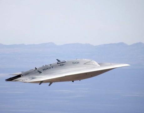 X-47B UCAS-D cruise