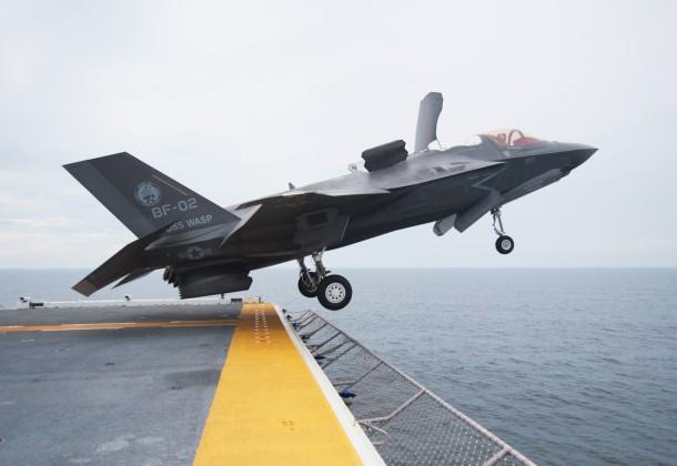 F-35B deck jump