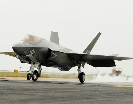 F-35C JSF catapult launch