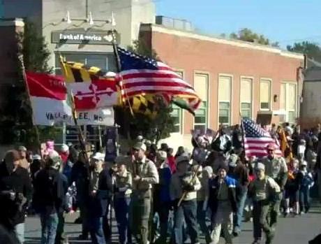 Leonardtown Veterans Day Parade 2011