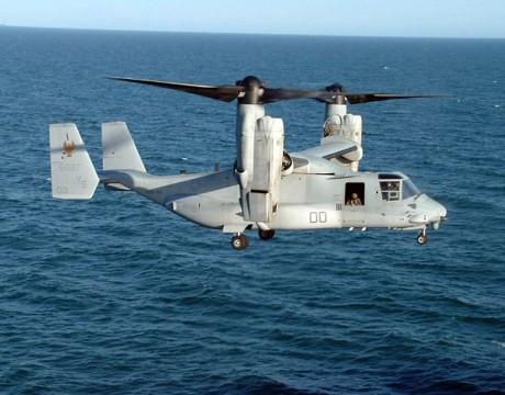 v-22 osprey landing