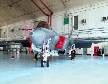 F-35C JSF Pax hangar