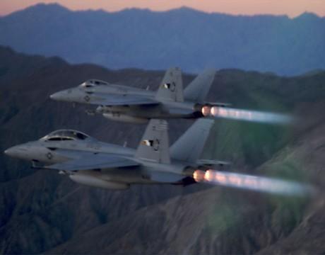 f-18 hornet afterburner