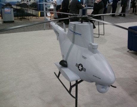 MQ-8B Fire Scout Model