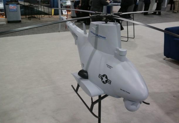 MQ-8B Fire Scout Model