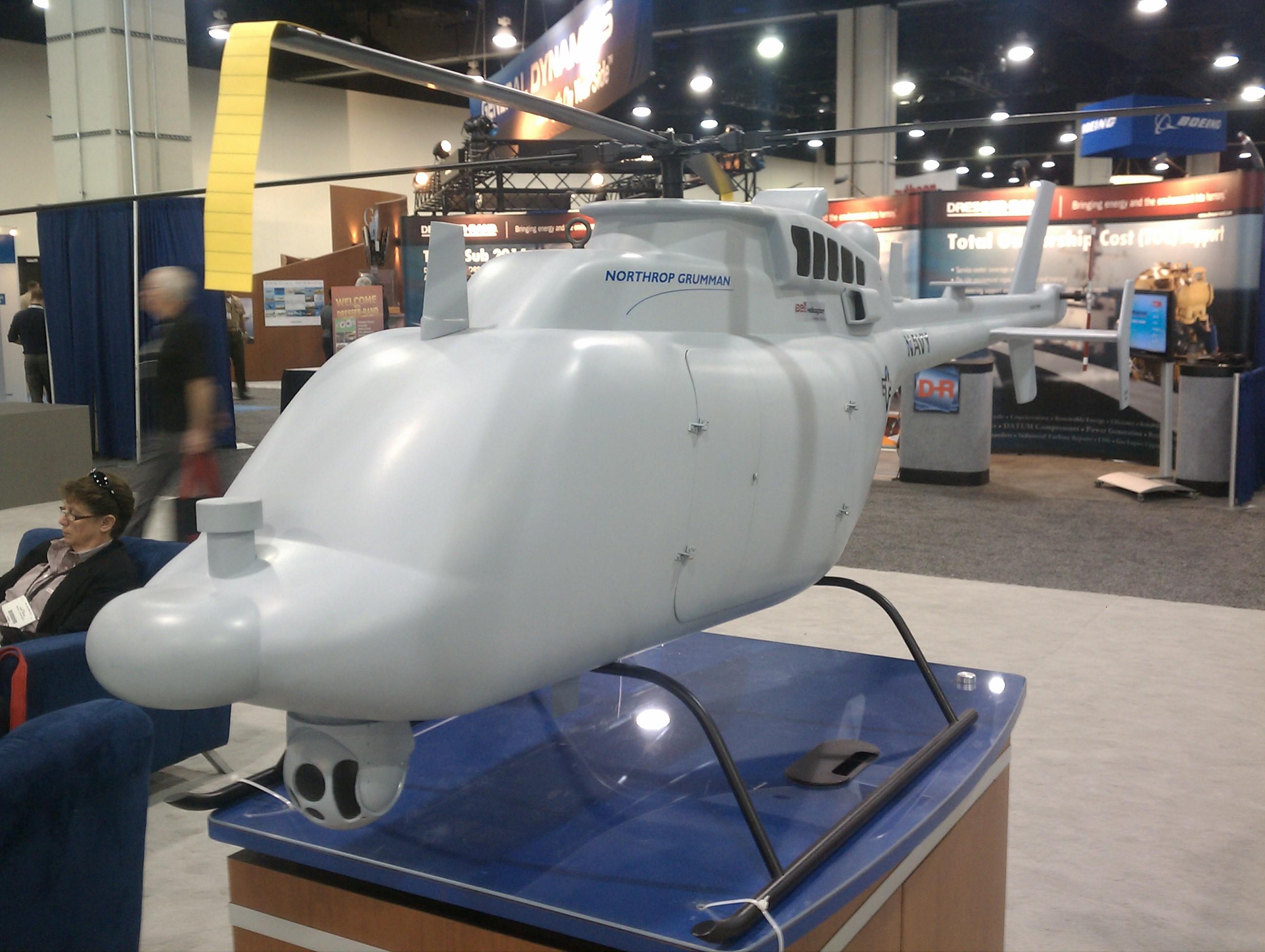 MQ-8C Fire Scout Model
