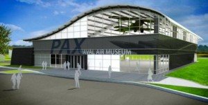 new Patuxent River Naval Air Museum concept