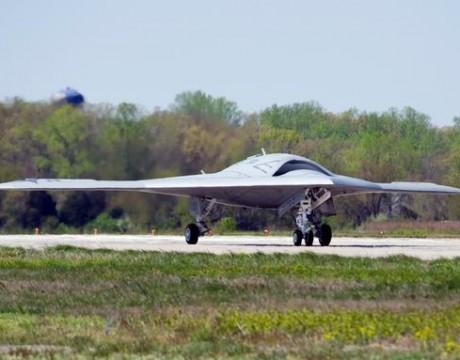 X-47B UCAS taxi