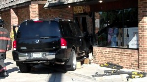 SUV Crashes Into International Beverage