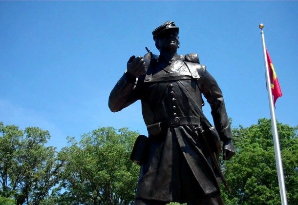 U.S. Colored Troops Civil War Memorial Monument