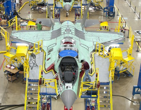F-35 Joint Strike Fighter production