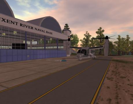 NAWC Second Life Hangar 2