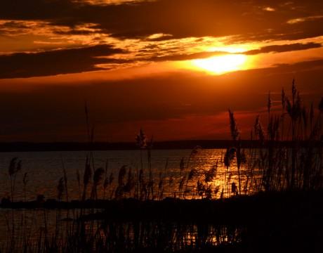 St. George's Island sunset