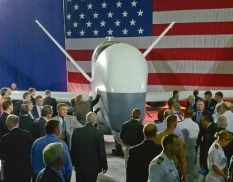 MQ-4C BAMS Triton unveiling
