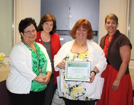 Patty Hall Daisy Award
