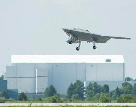 x-47b UCAS first flight