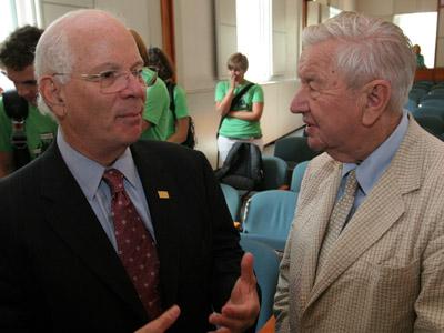 Benjamin Cardin and J. Frank Raley