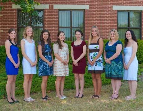Medstar St. Mary's Hospital scholarship recipiants