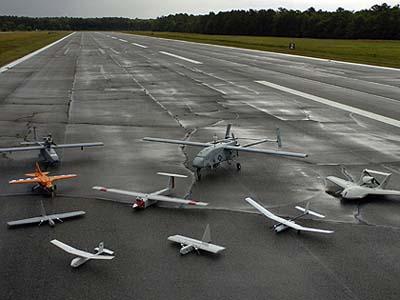 Webster Field drones