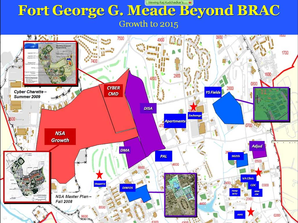 Fort Meade Map Ft. Meade Expects 10,000 New Workers by 2020 LexLeader Fort Meade Map