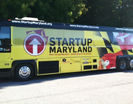 Startup Maryland bus