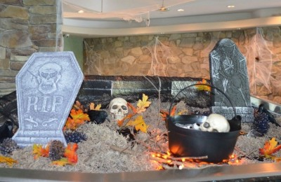 The Tides Halloween Decorations