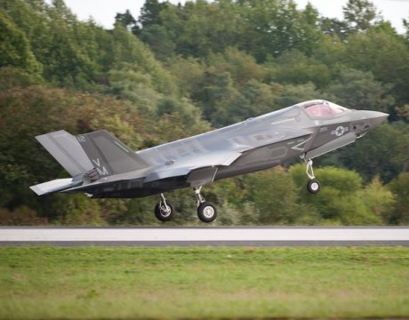 F-35B JSF first production at Pax