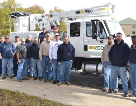 SMECO BGE Hurricane Sandy help