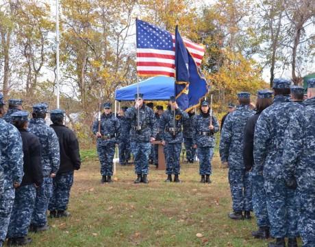 USS Tulip Ceremony 2012