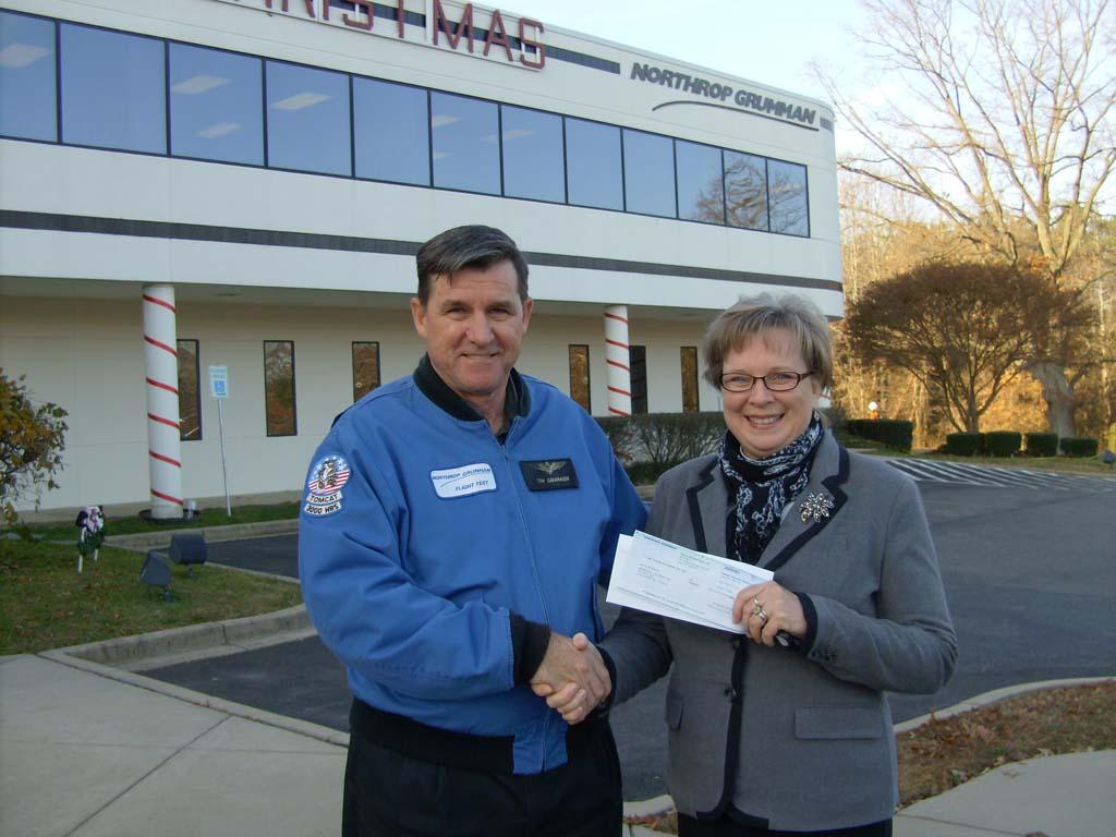 Northrop Donates 1 650 To Greenwell For Vet Programs