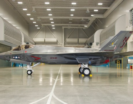 F-35C JSF first trainer