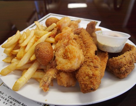 fried seafood