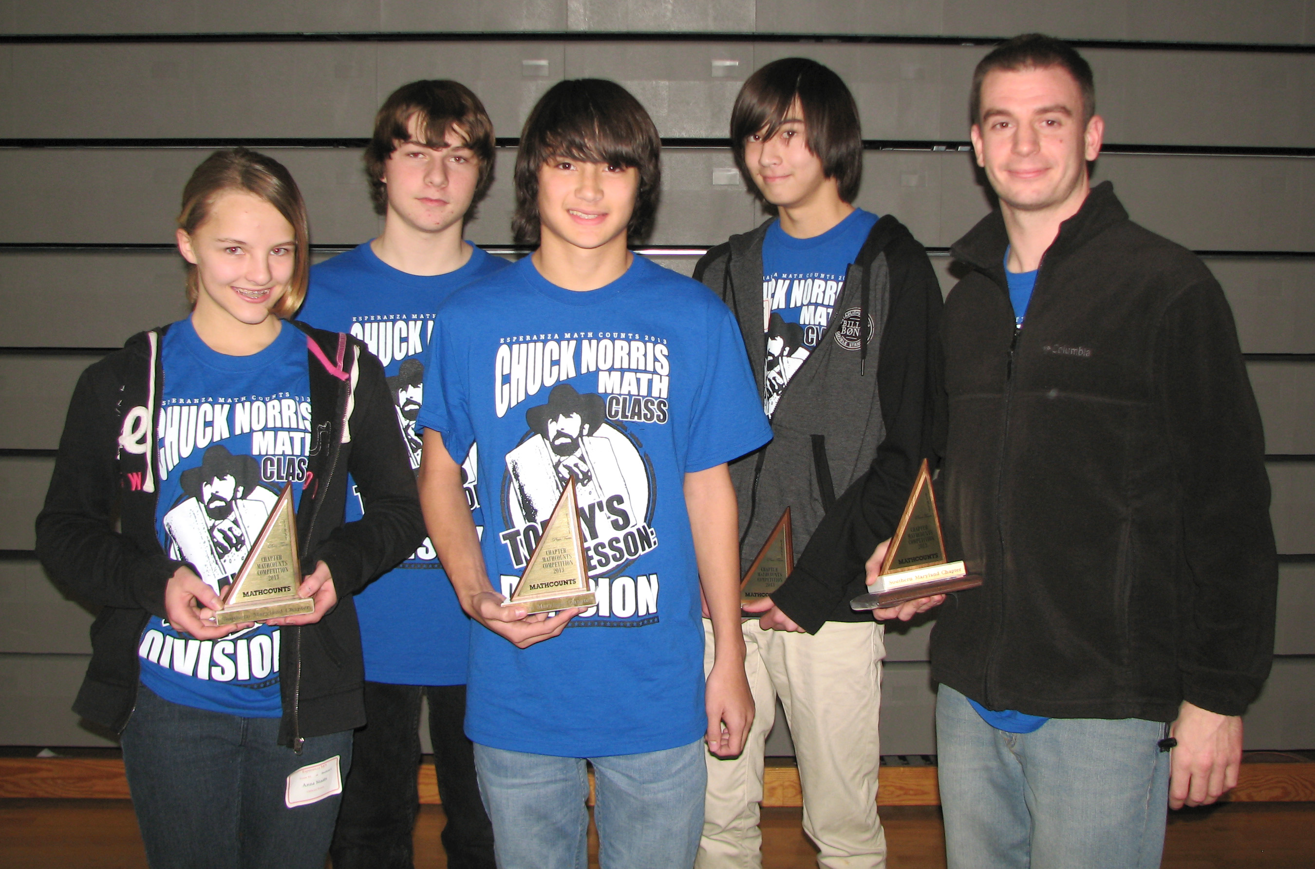 esperanza middle wins first place at mathcounts lexleader