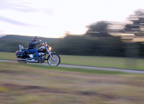 motorcycle rider motion