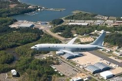 P-8A arrives at Pax River. U.S. Navy photo