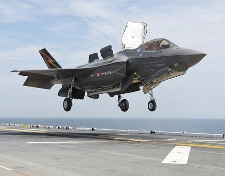 F-35B phase II testing aboard USS Wasp