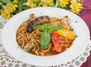 italian grill pasta