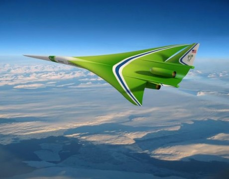 Lockheed's supersonic NASA jet