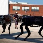 "Boston Dynamics' ""Big Dog"" robots being developed for DARPA"